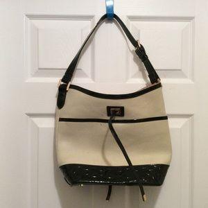 Spartina 449 Handbag Cream Black Shoulder Bag